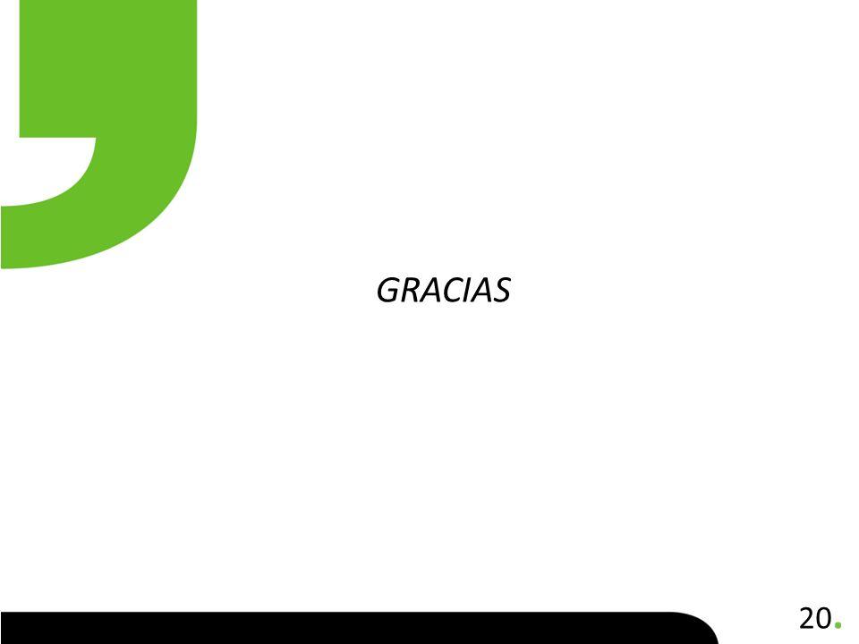 20. GRACIAS