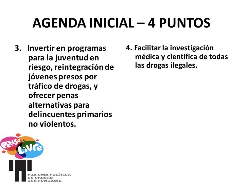 AGENDA INICIAL – 4 PUNTOS 3.