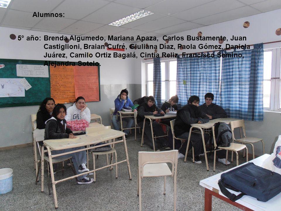 Paula Cabrera, Yomara Gómez, María Victoria Juárez, Gabriela Pereyra, Romina Sosa, Andrea Sumbaño, Micaela Tactaca.
