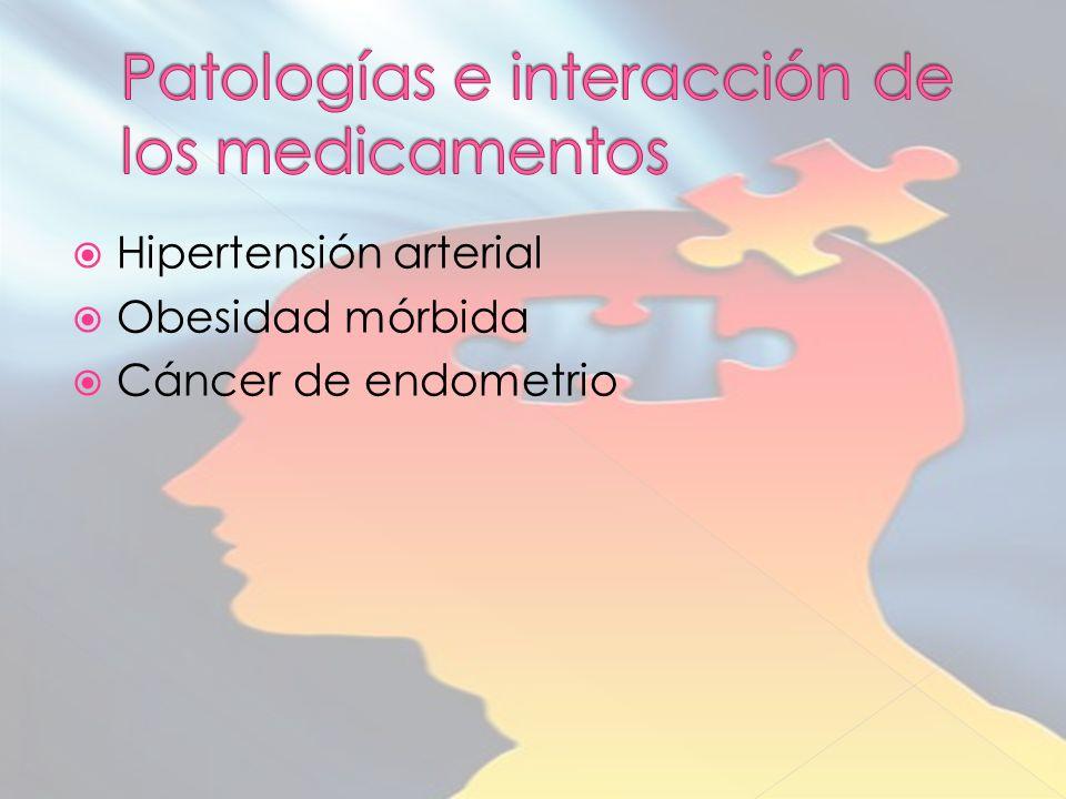 Hipertensión arterial Obesidad mórbida Cáncer de endometrio
