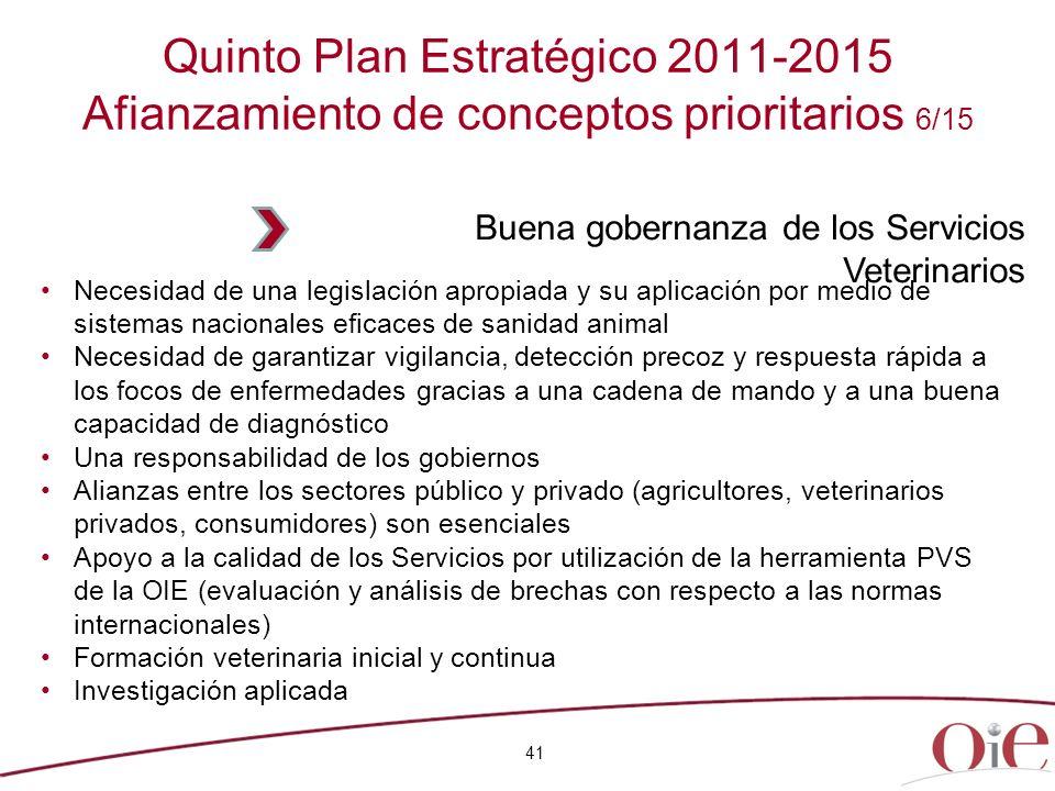 41 Necesidad de una legislación apropiada y su aplicación por medio de sistemas nacionales eficaces de sanidad animal Necesidad de garantizar vigilanc