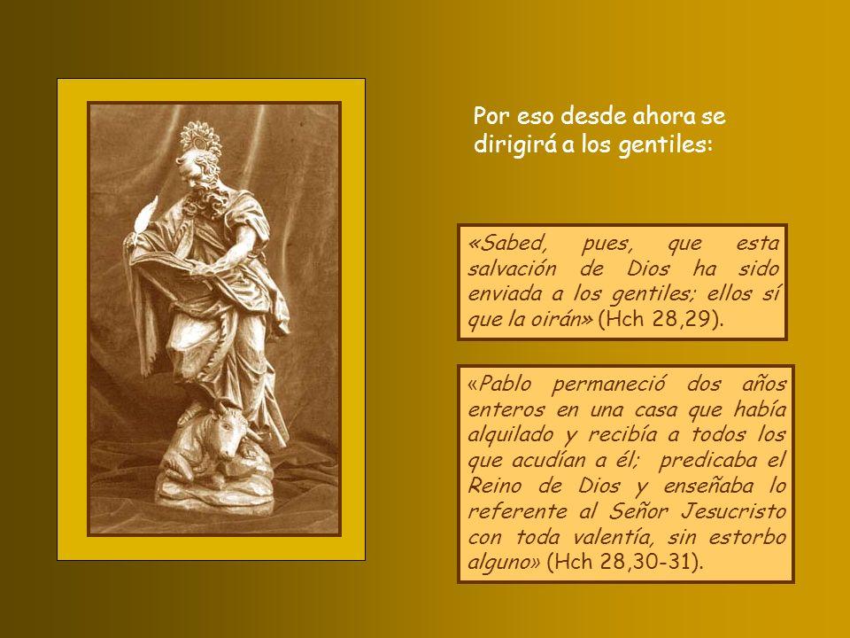 «Con razón habló el Espíritu Santo a vuestros padres por medio del profeta Isaías: Ve a encontrar a este pueblo y dile: Escucharéis bien, pero no entenderéis, miraréis bien, pero no veréis.
