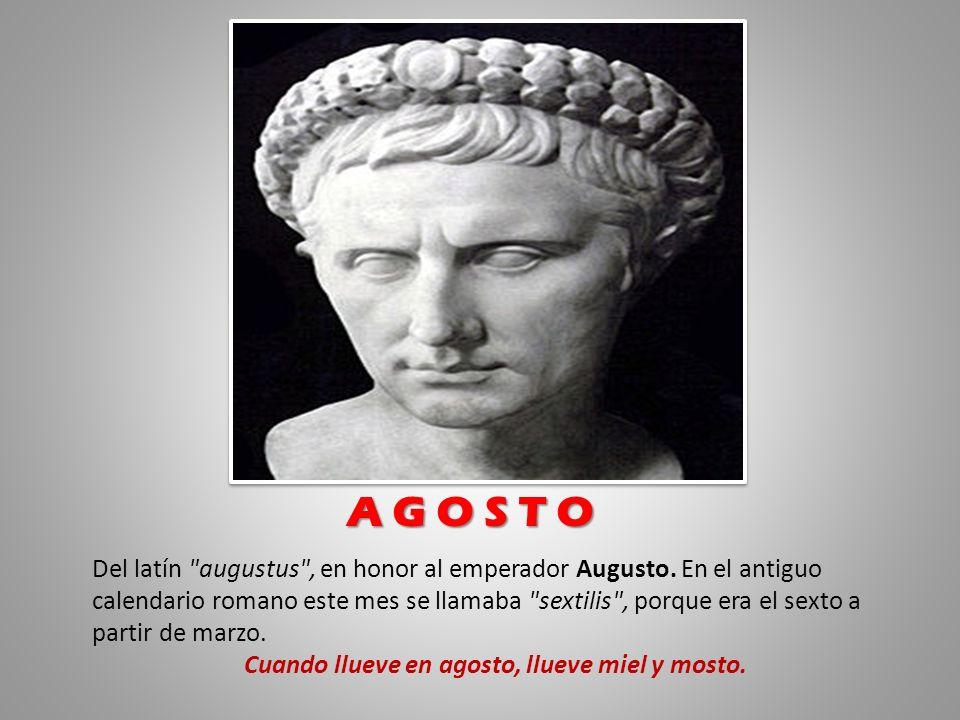 Del latín