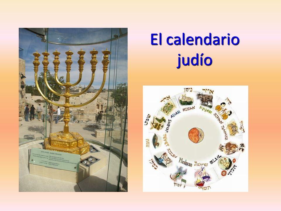 El año judío es solar como el cristiano, pero los meses son lunares: de ahí que cada dos años o tres tenga que añadirse un mes bisiesto para adecuar el cómputo de los meses lunares al año solar, por ello cada año la Pascua, y la Semana Santa que la precede, caen en fechas distintas.