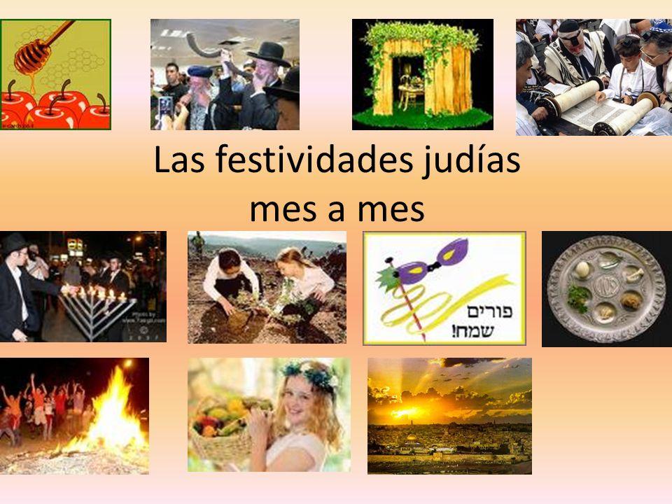 Las festividades judías mes a mes