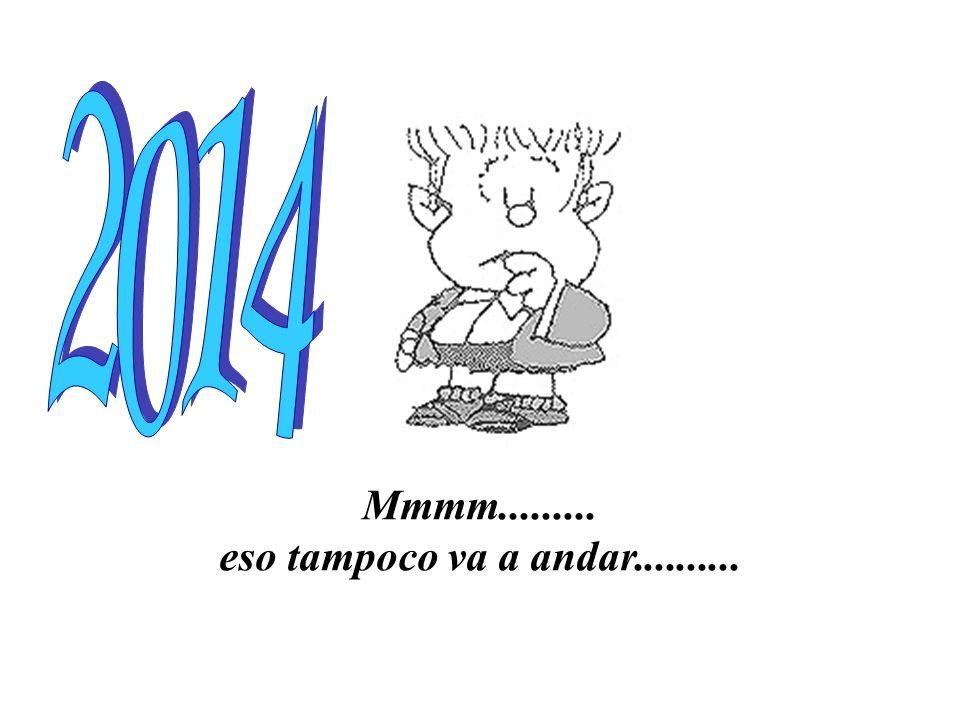 Bue............... les deseo un año de prosperidad para todos!!!