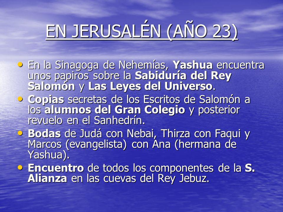 MUERTE DE JOSEPH Y JHOSUELÍN Muerte de Jhosuelín hermano de Yashua a la edad de 26 años. Muerte de Jhosuelín hermano de Yashua a la edad de 26 años. M