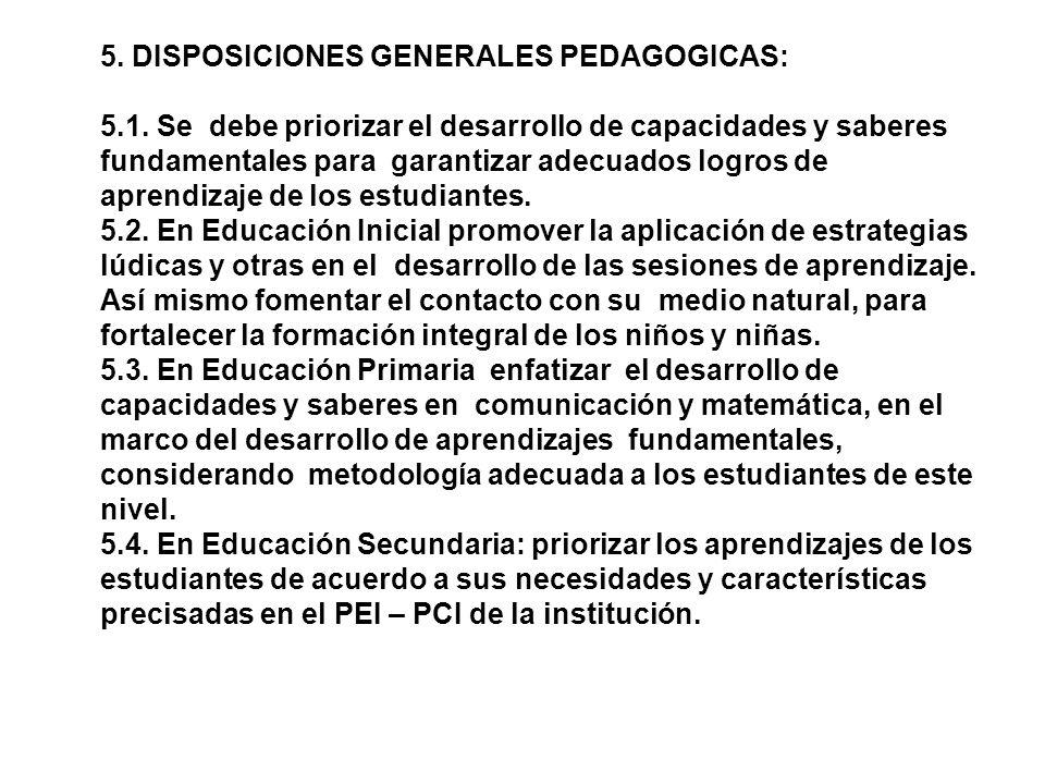2. OBJETIVOS: 2.1. Orientar la recuperación de horas efectivas de labor pedagógica en las instituciones educativas públicas de EBR, EBA, EBE y ETP. 2.