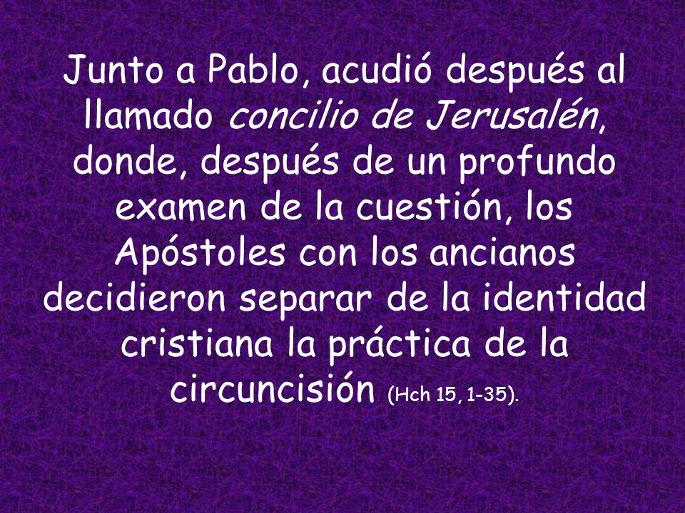 En realidad, fue un viaje misionero de Bernabé, él era el verdadero responsable, al que Pablo se sumó como colaborador, recorriendo las regiones de Ch