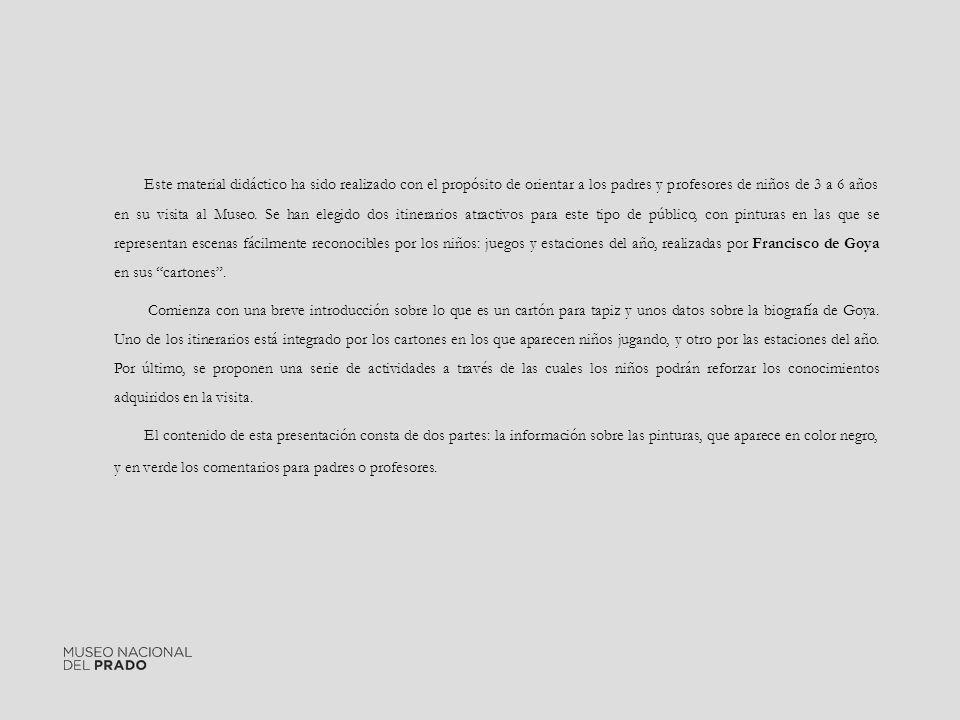 Para saber más: Bibliografía: ARNAIZ, José Manuel: Francisco de Goya.