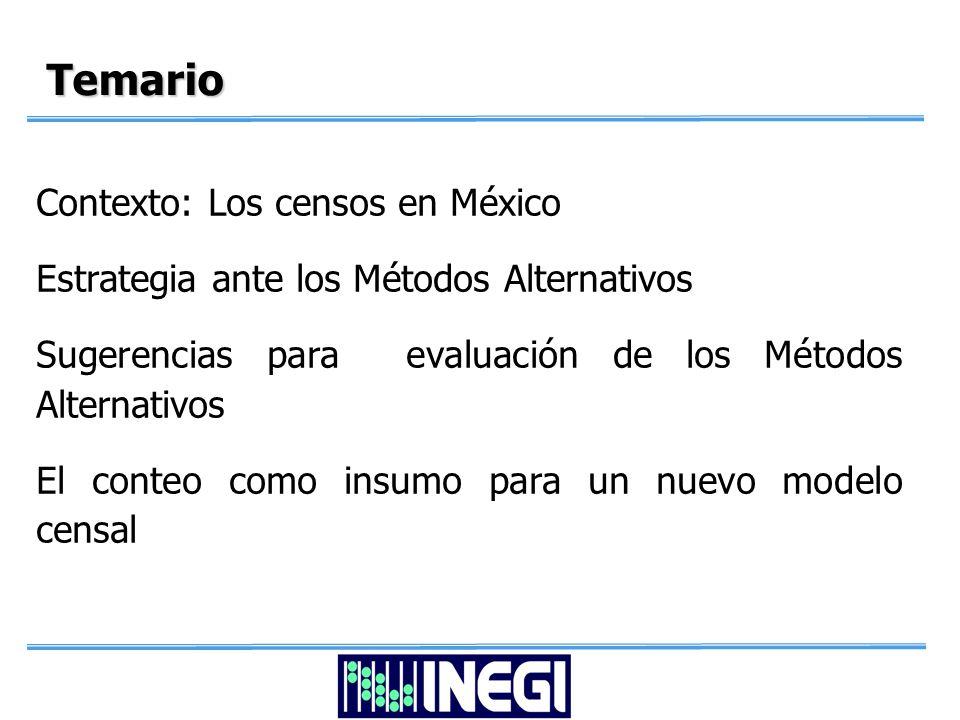 Los censos en México