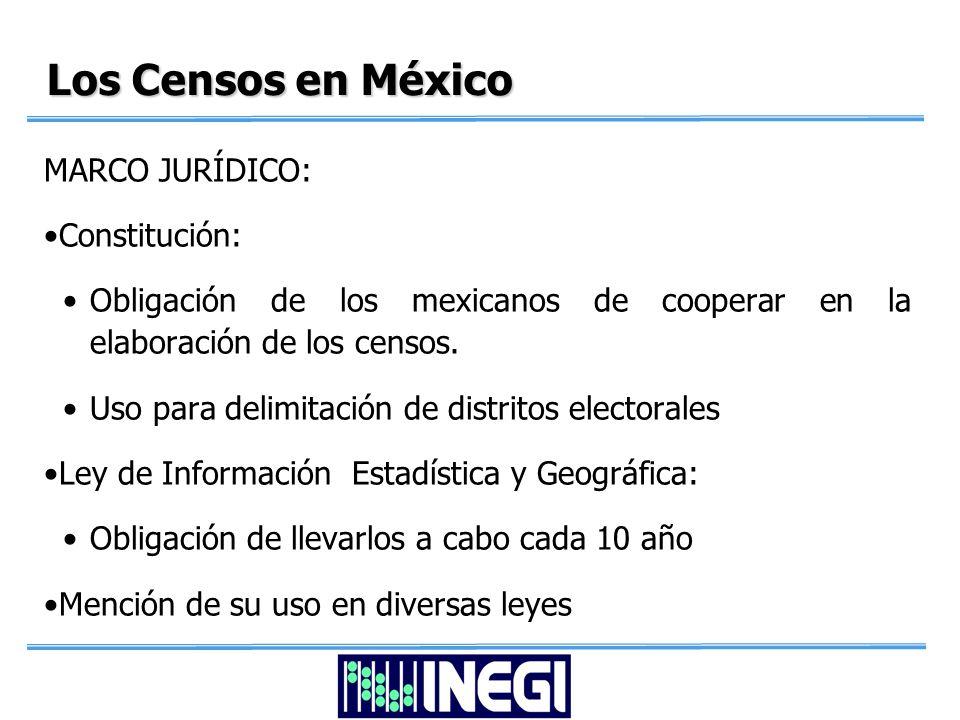 En el caso de México….