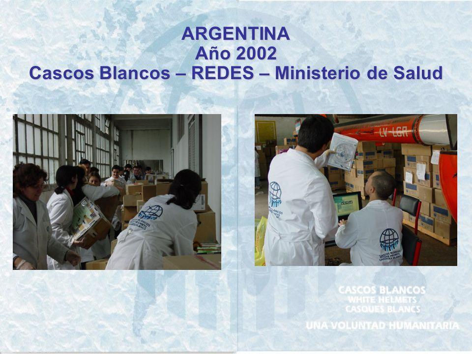 ARGENTINA, Provincia de Santa Fe Año 1998 Creación de Centros de Evacuados