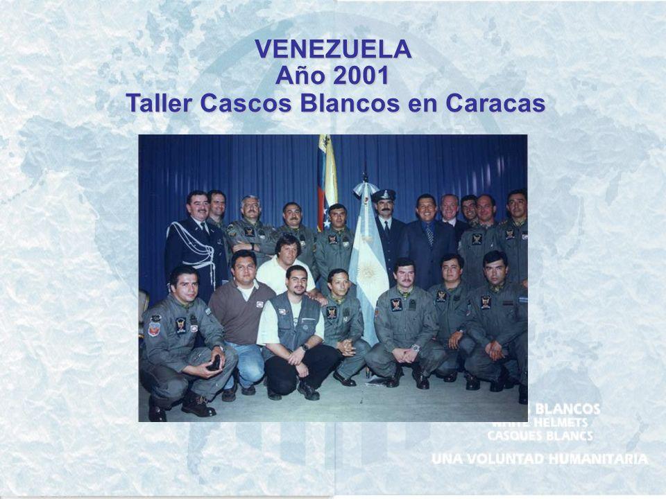 VENEZUELA Año 1999 Apoyo por inundaciones