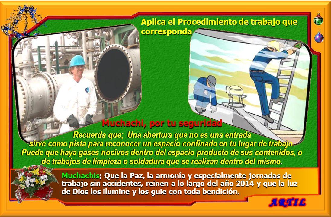 Amigos reciban el saludo Navideño y el deseo que el camino de la Seguridad Laboral construido, se fortalezca en el año 2014, en logros y objetivos alc