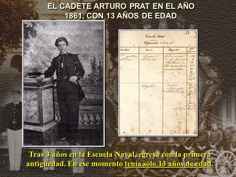 LA ESMERALDA DE PRAT EN 1879 Corbeta de segunda clase y casco de madera.