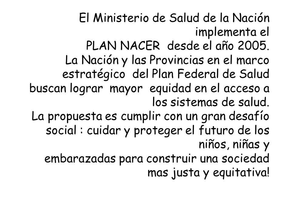 Objetivos Reducir la mortalidad materno-infantil en la Provincia de Buenos Aires.