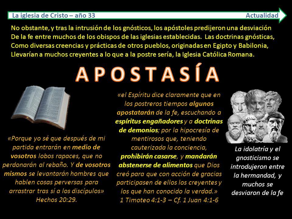 La iglesia de Cristo AÑO: 33 – Ciudad: JERUSALÉN Actualidad FUNDADOR: JESÚS, EL CRISTO. El establecimiento de la iglesia que Cristo fundó, está narrad