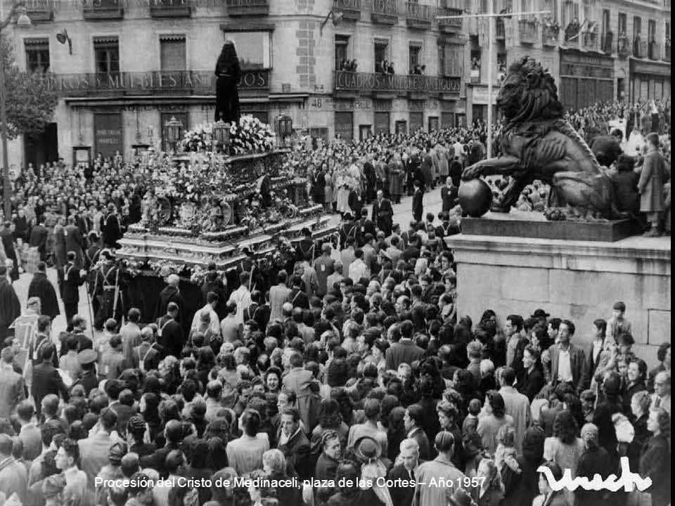Plaza de Cibeles – Año 1957