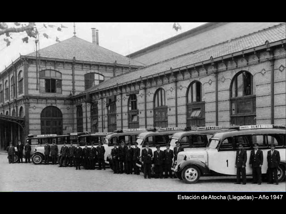 Estación de Atocha (Llegadas) – Año 1947