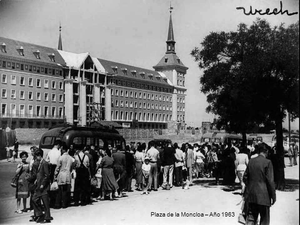 Incendio en Las Ventas – Año 1963