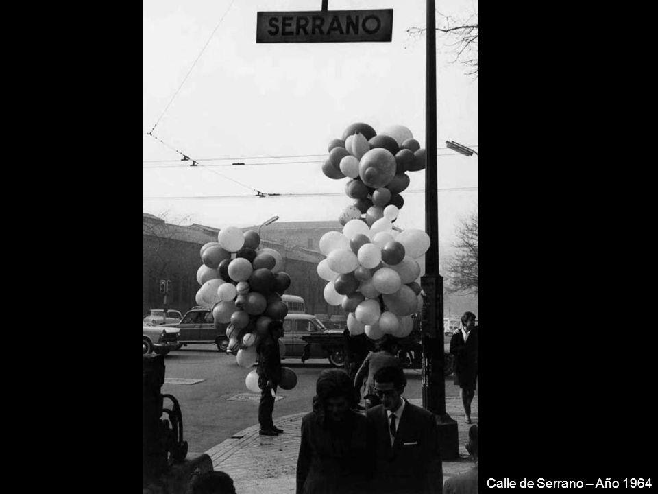 Plaza de la Moncloa – Año 1963