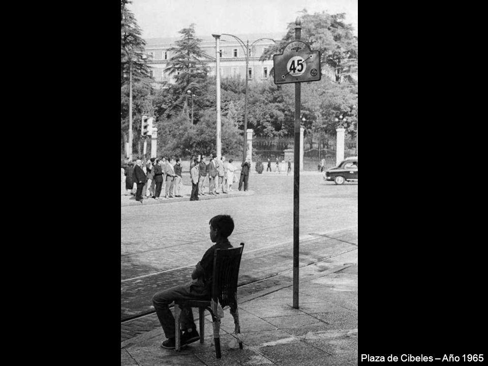 Piscina del Parque Sindical (el charco del obrero) – Año 1965