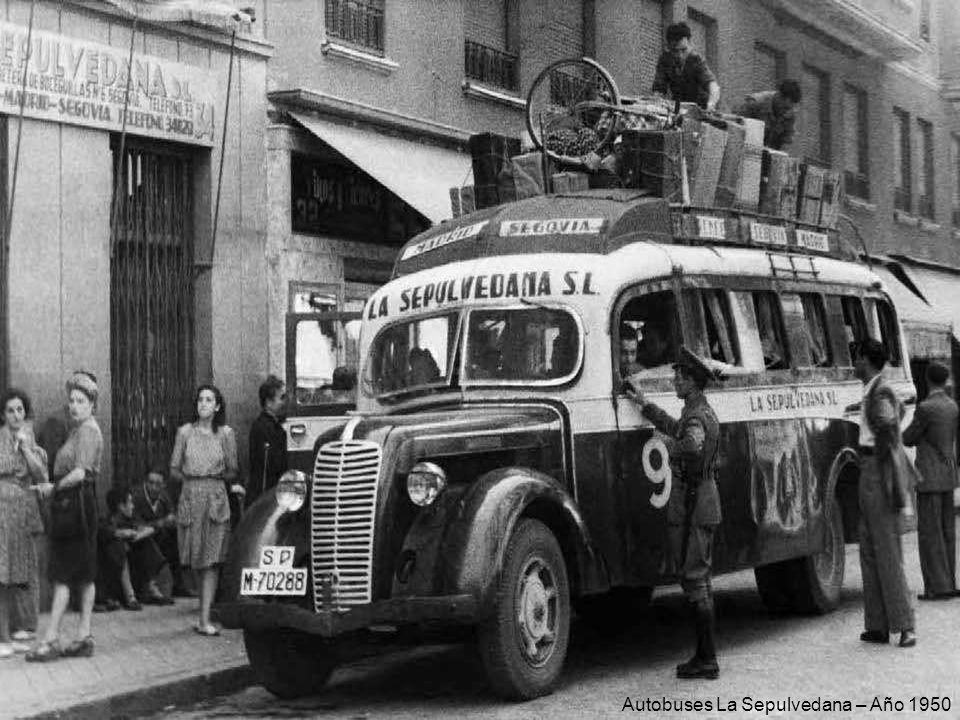 Plaza de Cibeles – Año 1965