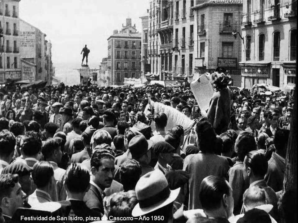 Bañistas en El Pardo – Año 1962