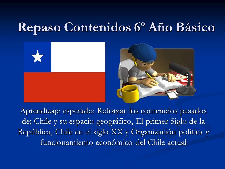 Chile es una República El poder ejecutivo: Esta encabezado por el presidente de la República, el cual nombra a su gabinete (ministros).