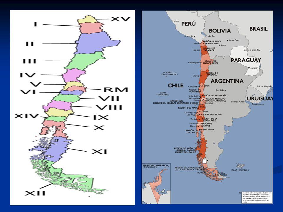 Chile y su espacio geográfico Su espacio insular contempla: Isla de Pascua, Archipiélago de Juan Fernández (Islas; Robinson Crusoe, Santa Clara, Alejandro Selkirk, Sala y Gómez, San Félix y San Ambrosio.