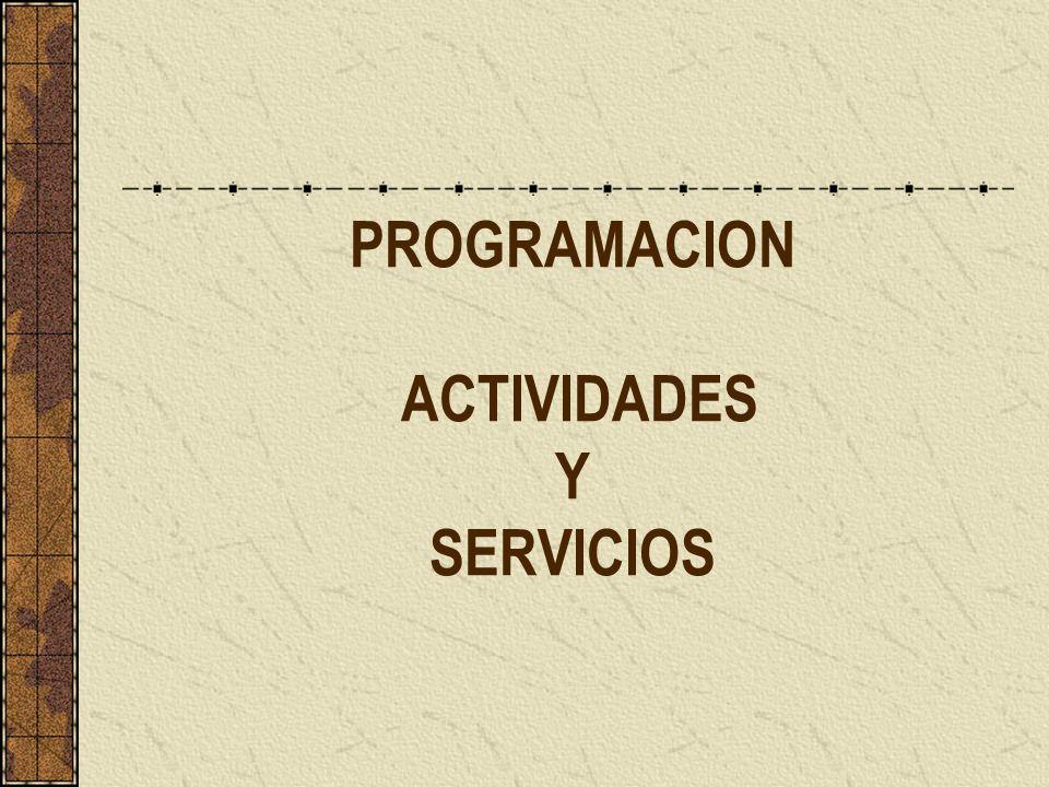 Agentes que intervienen en la planificación - en la mayoría de las actividades: valoración y planificación técnica.
