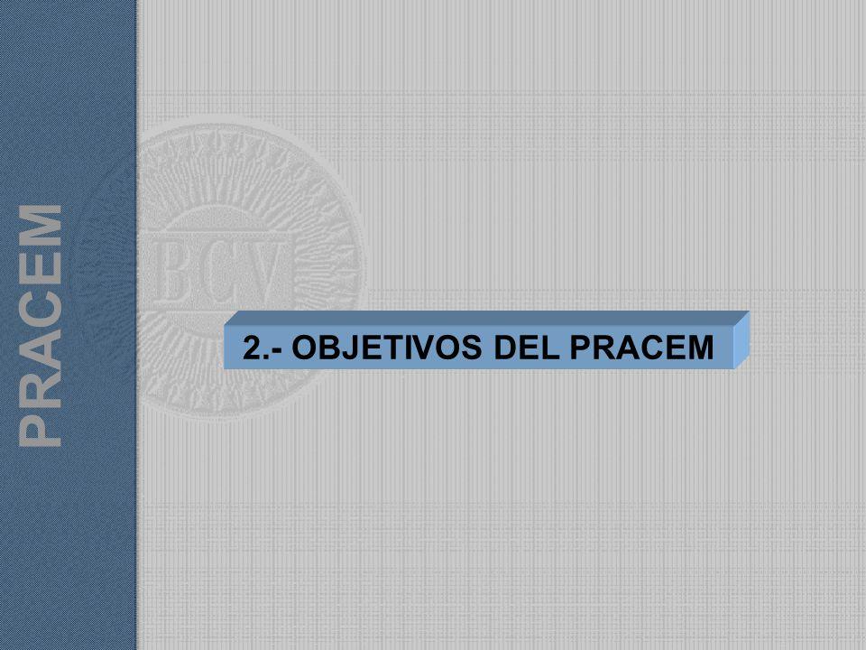 2.- OBJETIVOS DEL PRACEM PRACEM