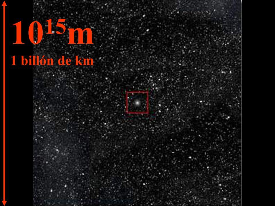 10 16 m 10 billones de km 1 año luz