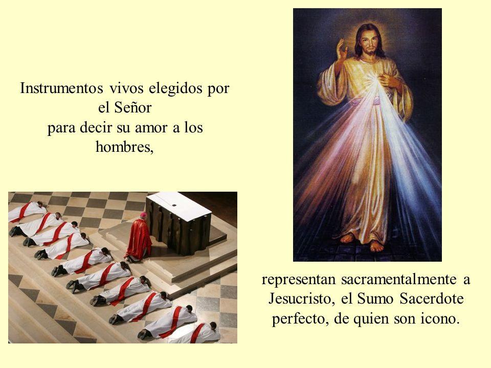 acompañan espiritualmente, y nos ayudan a rezar.