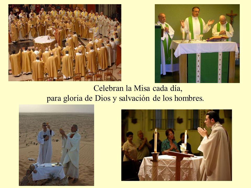 representan sacramentalmente a Jesucristo, el Sumo Sacerdote perfecto, de quien son icono.