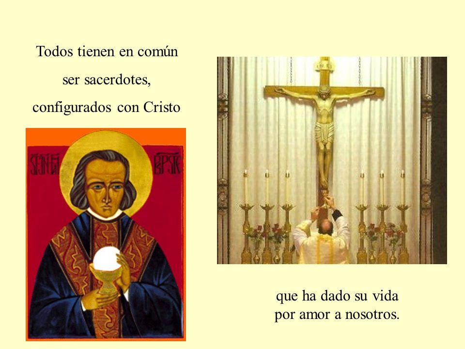 Celebran la Misa cada día, para gloria de Dios y salvación de los hombres.