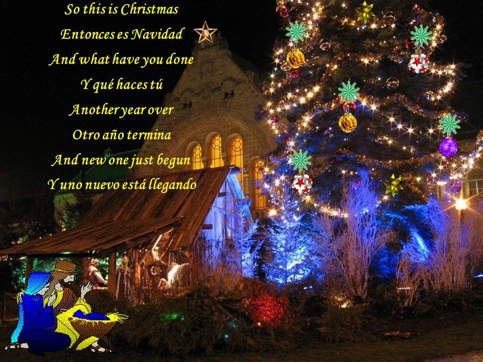 El Colegio San José de Calasanz te desea: A very Merry Christmas /Una muy feliz Navidad And Happy New Year / Y un feliz año nuevo Let's hope its good