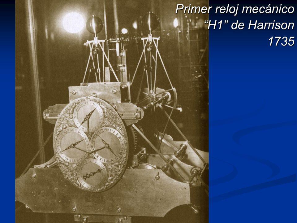 Primer reloj mecánico H1 de Harrison H1 de Harrison1735