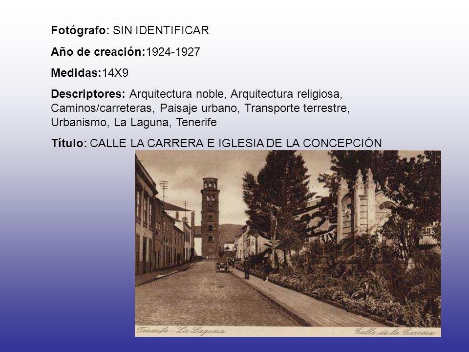 Fotógrafo: SIN IDENTIFICAR Año de creación:1924-1927 Medidas:14X9 Descriptores: Arquitectura noble, Arquitectura religiosa, Caminos/carreteras, Paisaj