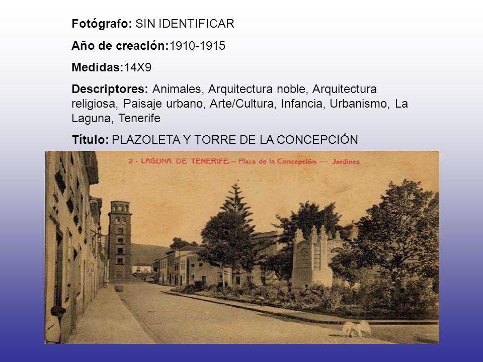 Fotógrafo: SIN IDENTIFICAR Año de creación:1910-1915 Medidas:14X9 Descriptores: Animales, Arquitectura noble, Arquitectura religiosa, Paisaje urbano,