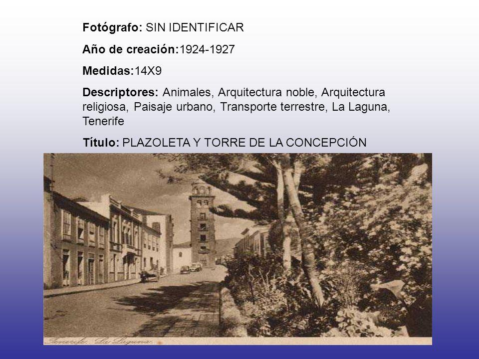 Fotógrafo: SIN IDENTIFICAR Año de creación:1924-1927 Medidas:14X9 Descriptores: Animales, Arquitectura noble, Arquitectura religiosa, Paisaje urbano,