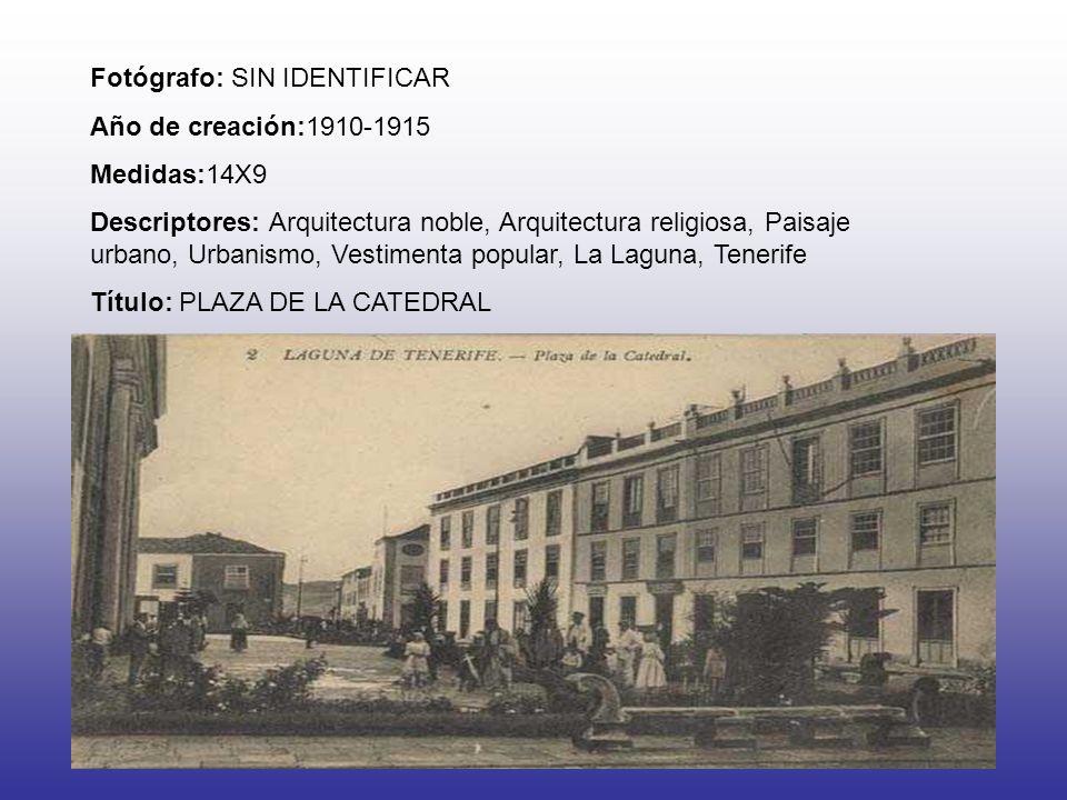 Fotógrafo: SIN IDENTIFICAR Año de creación:1910-1915 Medidas:14X9 Descriptores: Arquitectura noble, Arquitectura religiosa, Paisaje urbano, Urbanismo,
