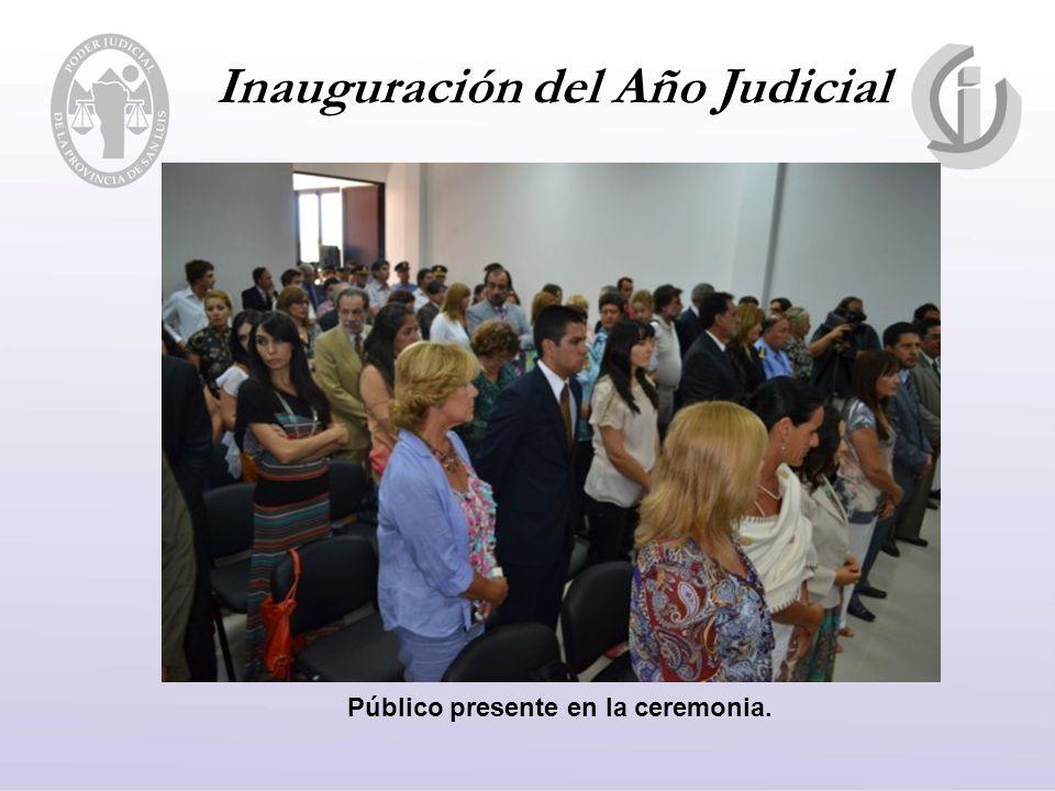 Público presente en la ceremonia.
