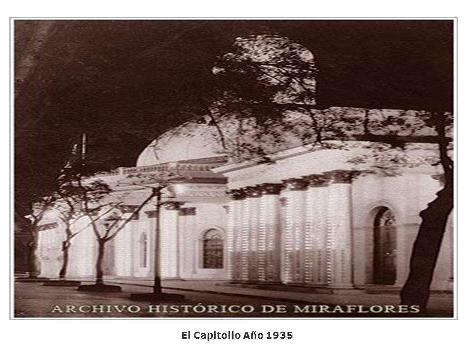 El Capitolio Año 1935