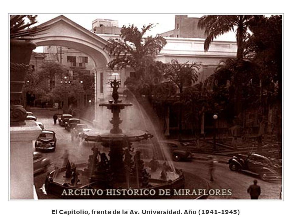 Fuerte Tiuna. El Valle. Año (1941-1945) Fotógrafo Luis F toro