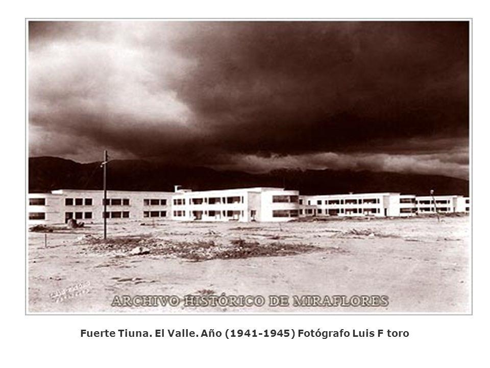 Capilla de Lourdes. El Calvario. Año 1941