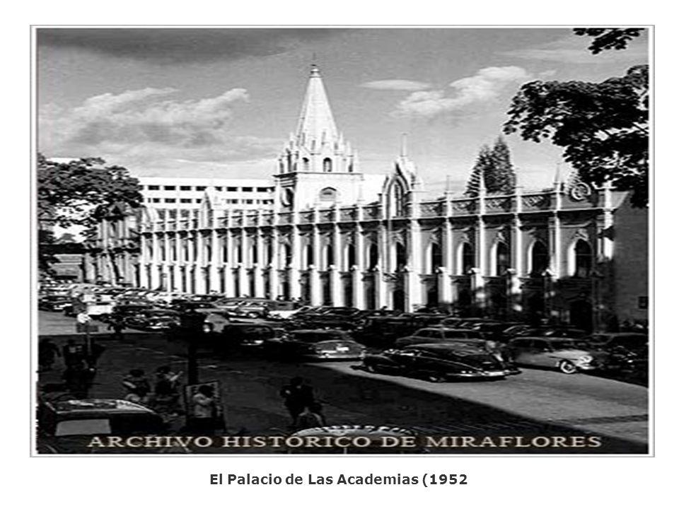 El Palacio de Las Academias (1952