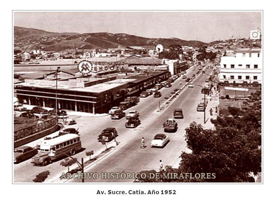 Av. Sucre. Catia. Año 1952