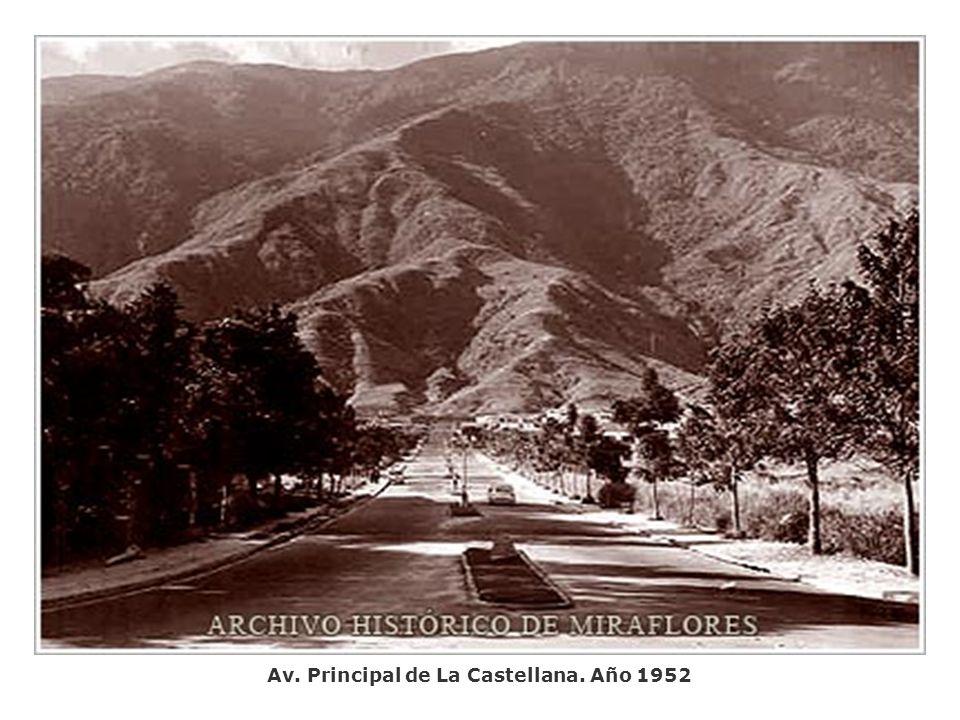 Maripérez vista desde El Teleférico. Año 1952